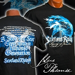Youth Blue Phoenix Short Sleeve