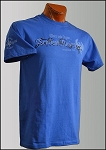 Royal Blue Scotland Rising Motto short sleeve T-shirt
