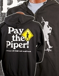 Pay the Piper Zipper Hooded Sweatshirt