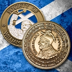 Society of William Wallace Collectible Coin