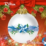 Clan Christmas Ornament Ribbon with Bow