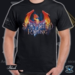 Rising Phoenix Short Sleeve T-shirt  10th Anniversary Edition