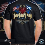 Official Scotland Rising 2020 Tartan Day Scotland Short Sleeve Tee