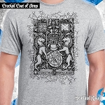 New! Cracked Coat of Arms