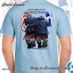 New York City Tartan Week Buddies Short Sleeve Tee