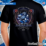Official Scotland Rising 2019 Tartan Day USA Short Sleeve Tee