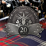 20th Anniversary New York Tartan Day Pin
