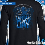 Official Scotland Rising 2019 Tartan Day Scotland Long Sleeve Tee