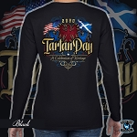 Official Scotland Rising 2020 Tartan Day US Ladies Long Sleeve Tee