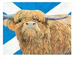 Highland Coo by Charle Randolph Bruce
