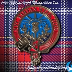 2020 New York Tartan Day Pin