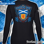 Tartan Day Scotland Ladies Long Sleeve Tee