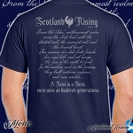 Special Edition Scotland Rising Motto short sleeve T-shirt