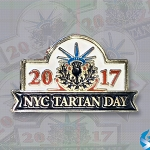 New York Tartan Day Pin 2017