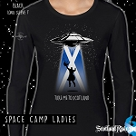 Ladies Long Sleeve Space Camp