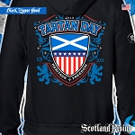 Tartan Day USA Zipper Hood