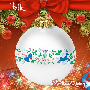 Folk Style Christmas Ornament