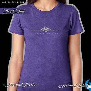 Scotland Forever-Ladies Tri-Blend Short Sleeve Tee