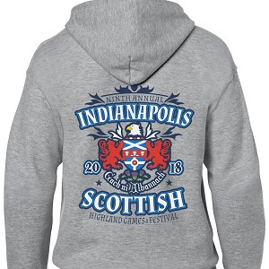 Indianapolis Highland Games Zipper Hood