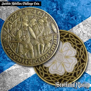 Jacobite Collectable Coin