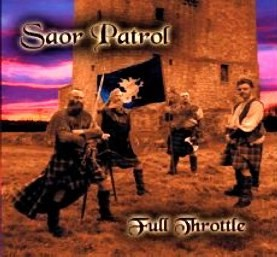 Saor Patrol - Full Throttle CD