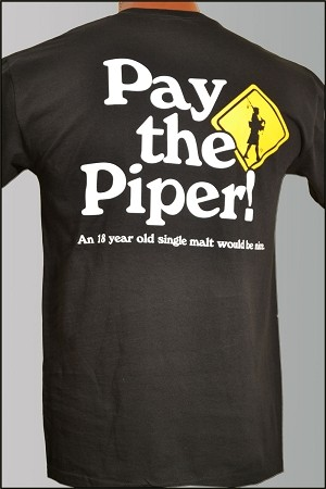 Pay The Piper Short Sleeve T-shirt