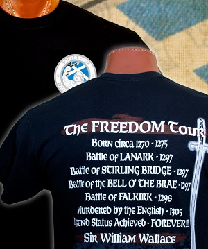 Society of William Wallace Freedom Tour