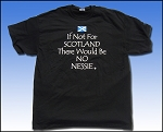 If Not For/Nessie Short Sleeve T-shirt