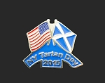 New York Tartan Day Pin 2015