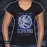 Ladies-Lion of Freedom Short Sleeve
