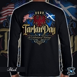 Official Scotland Rising 2020 Tartan Day Long Sleeve Tee
