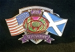New York Tartan Day Pin 2016